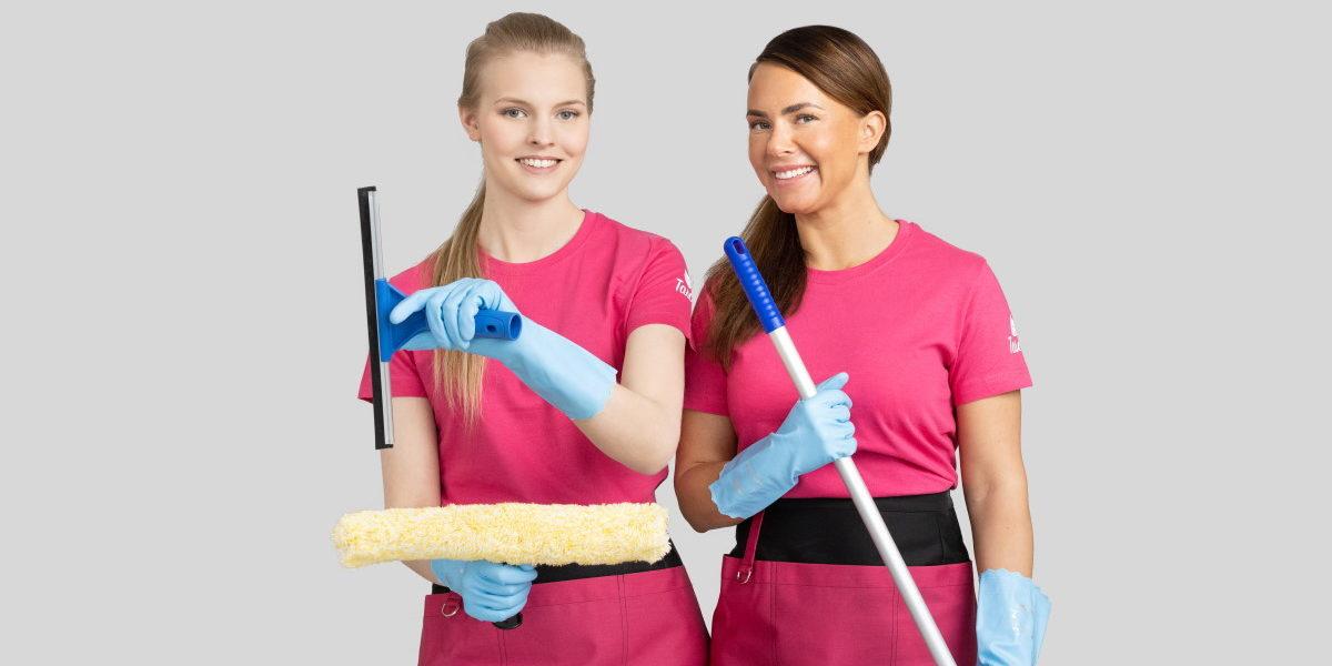 Tasokoti kansikuva siivoojat 45